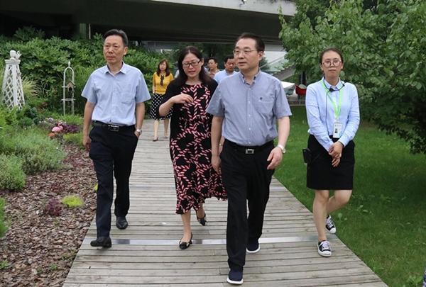 江苏省文化和旅游厅党组书记、厅长杨志纯一行调研旺山文旅风情小镇创建工作